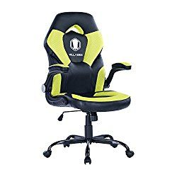 Cool Killabee Racing Style Gaming Chair Flip Up Arms Ergonomic Unemploymentrelief Wooden Chair Designs For Living Room Unemploymentrelieforg