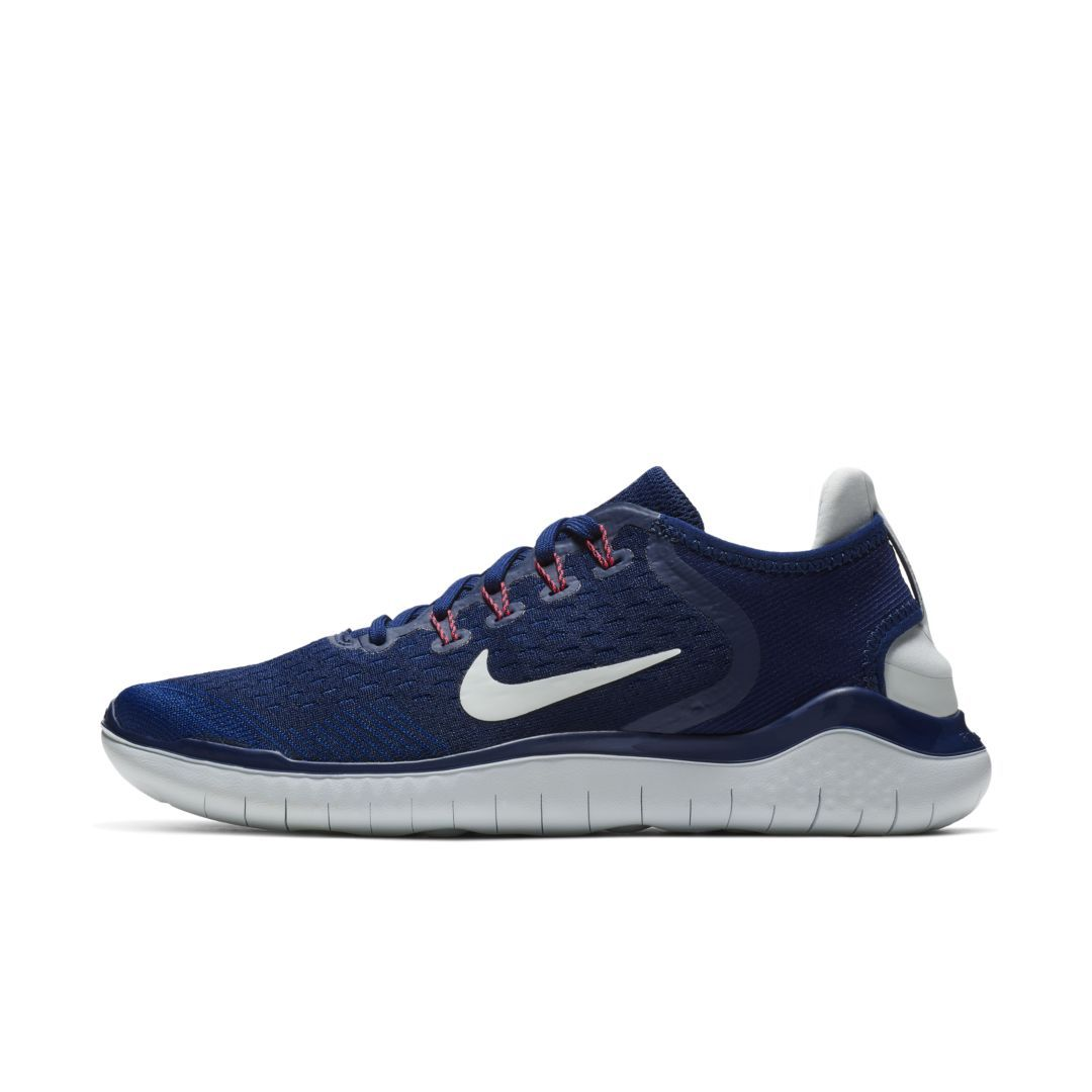Nike Free RN 2018 Women's Running Shoe Size 5 (Blue Void ...