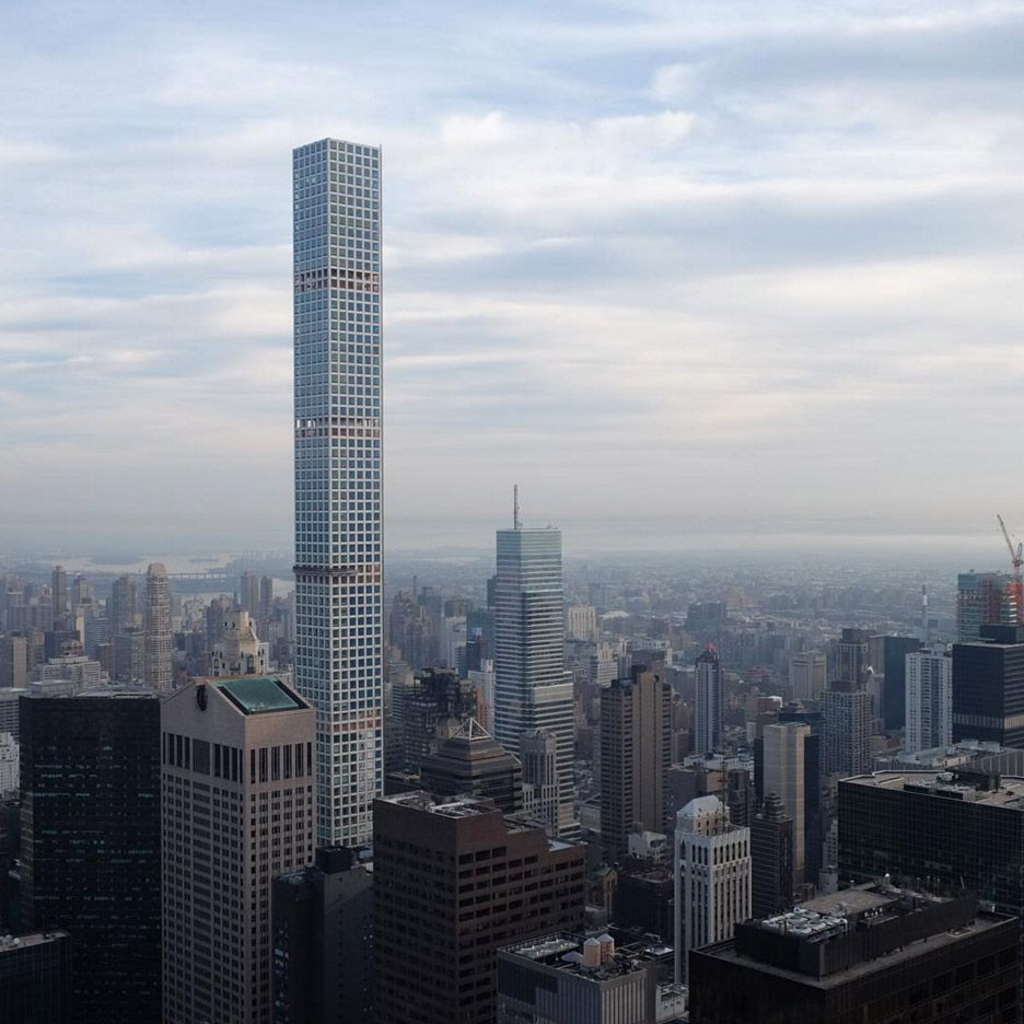 Apartment Building Manhattan New York: Photos Reveal Impact Of Viñoly's Super-tall Skyscraper In