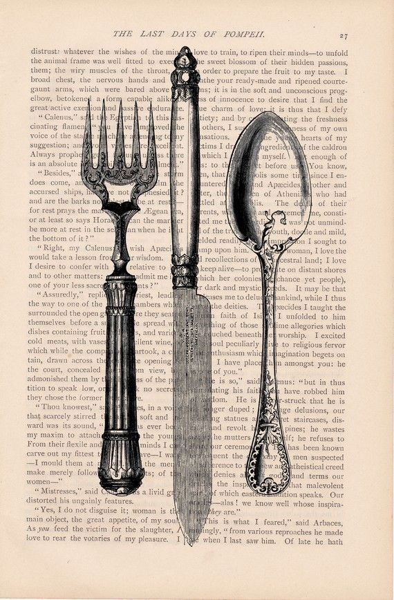 Craft Victorian-Style Illustration on Book Pages