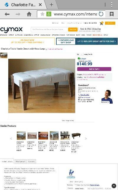 Bench I want