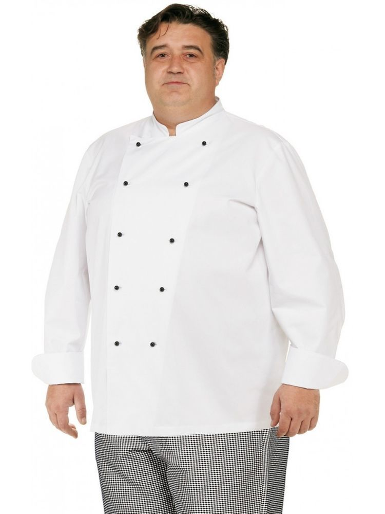3764f56a7c GIACCA CHEF GIBLOR'S CUOCO OVERSIZE TAGLIE FORTI BIG SIZE COOK ...