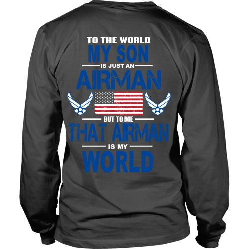 AIRFORCE - My Son Is My World - Back Design