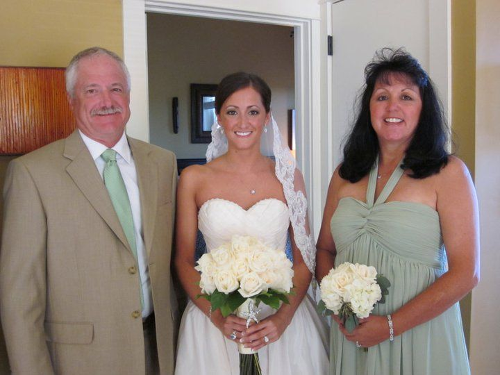 Father Of The Bride Suit And Mother Dress Beach Wedding Destin Florida