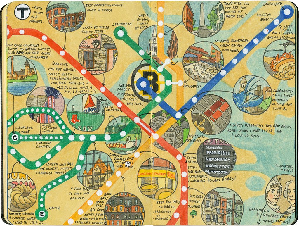 t time drawn the road again tourist map of boston attractions