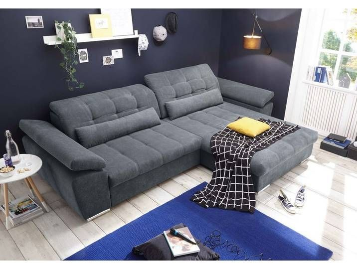 Ecksofa Casarano Couch Schlafcouch Bettsofa Schlafsofa Sofabett