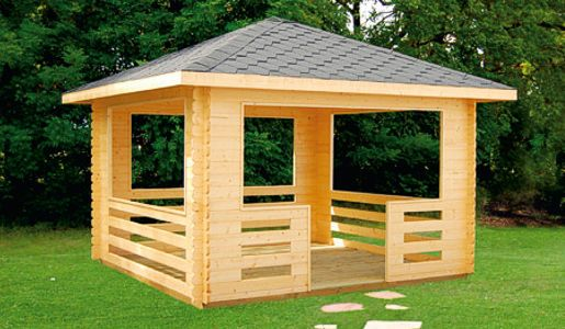 Kiosco de madera oficina buscar con google kiosko - Gazebos de madera ...