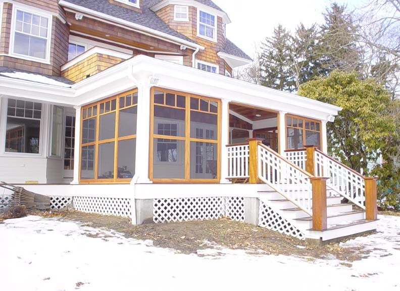 Flat Roof On The Rear Back Porch Flat Roofs Pinterest