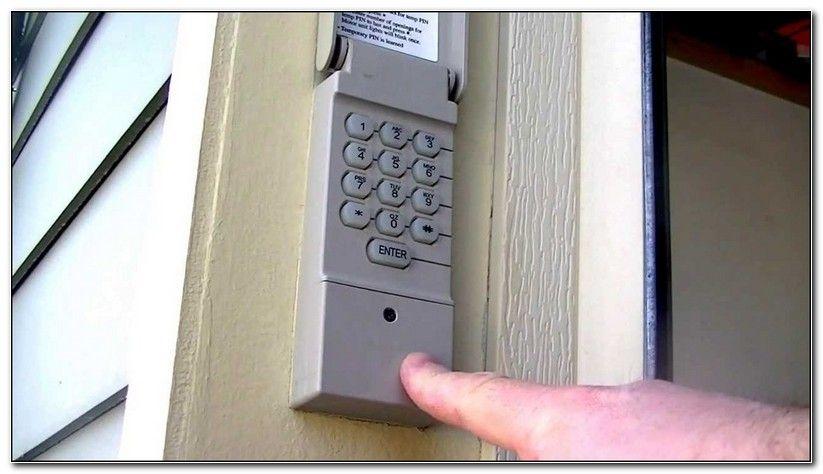 How To Change Battery On Outside Garage Door Opener Check More At Https Perfectsolu Garage Door Opener Keypad Garage Door Opener Remote Craftsman Garage Door