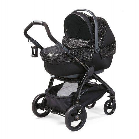 97a2c3a9e1c5 Young Versace Baby Black Stroller   Travel Set (4 Piece)   Huey Amir ...