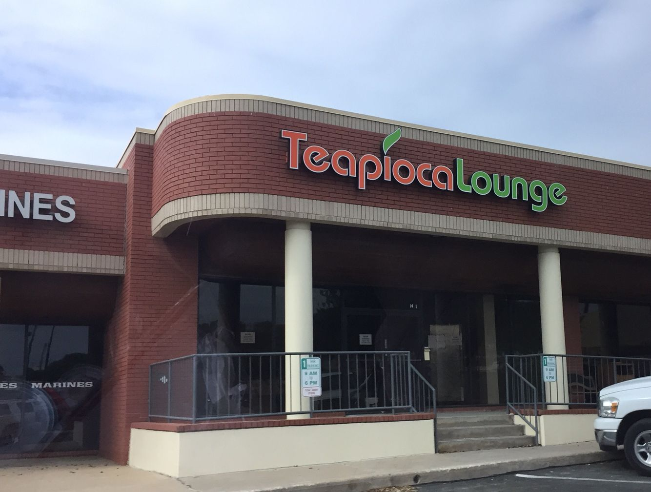 Come by for a refreshing boba tea at the new teapioca