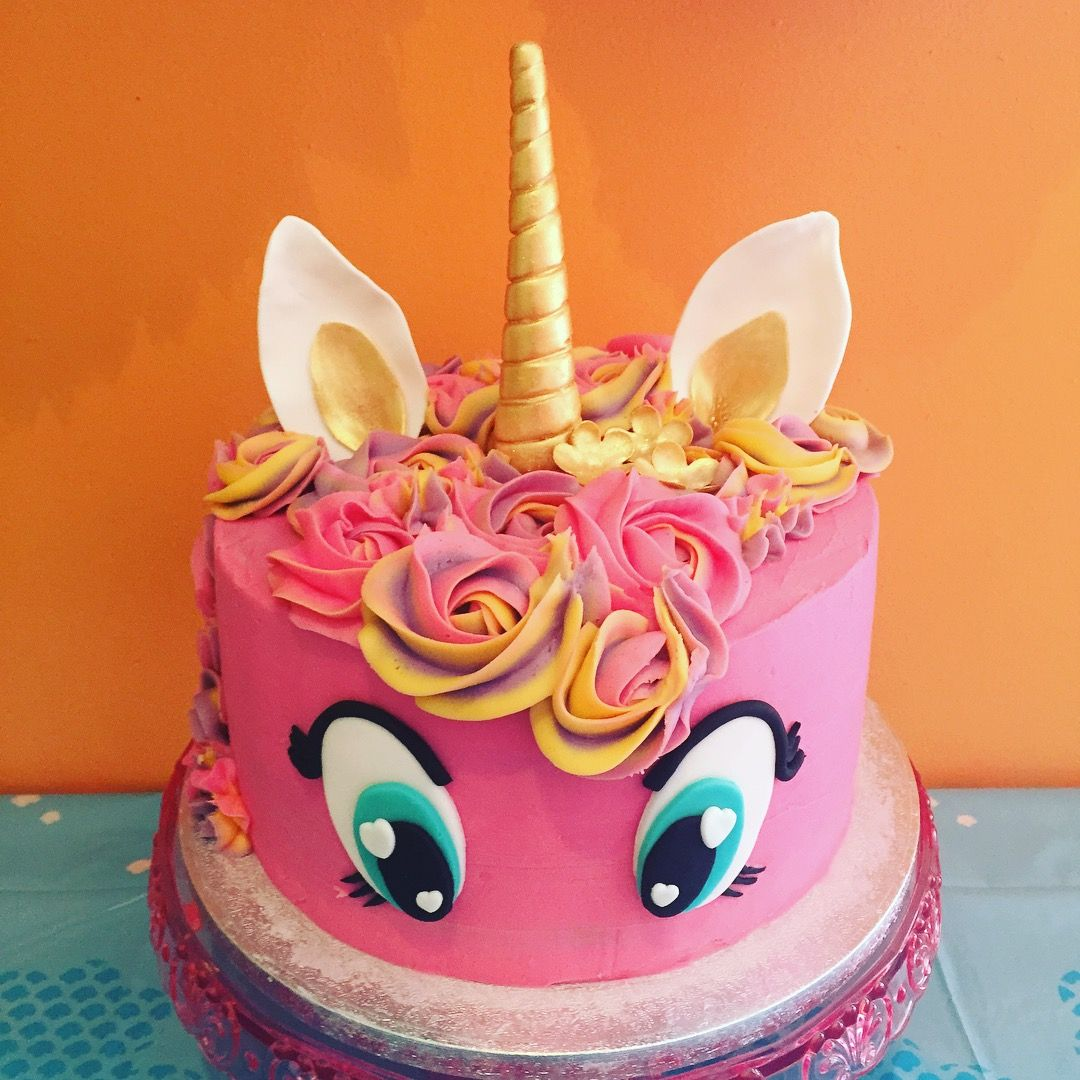 My Little Pony Style Unicorn Cake
