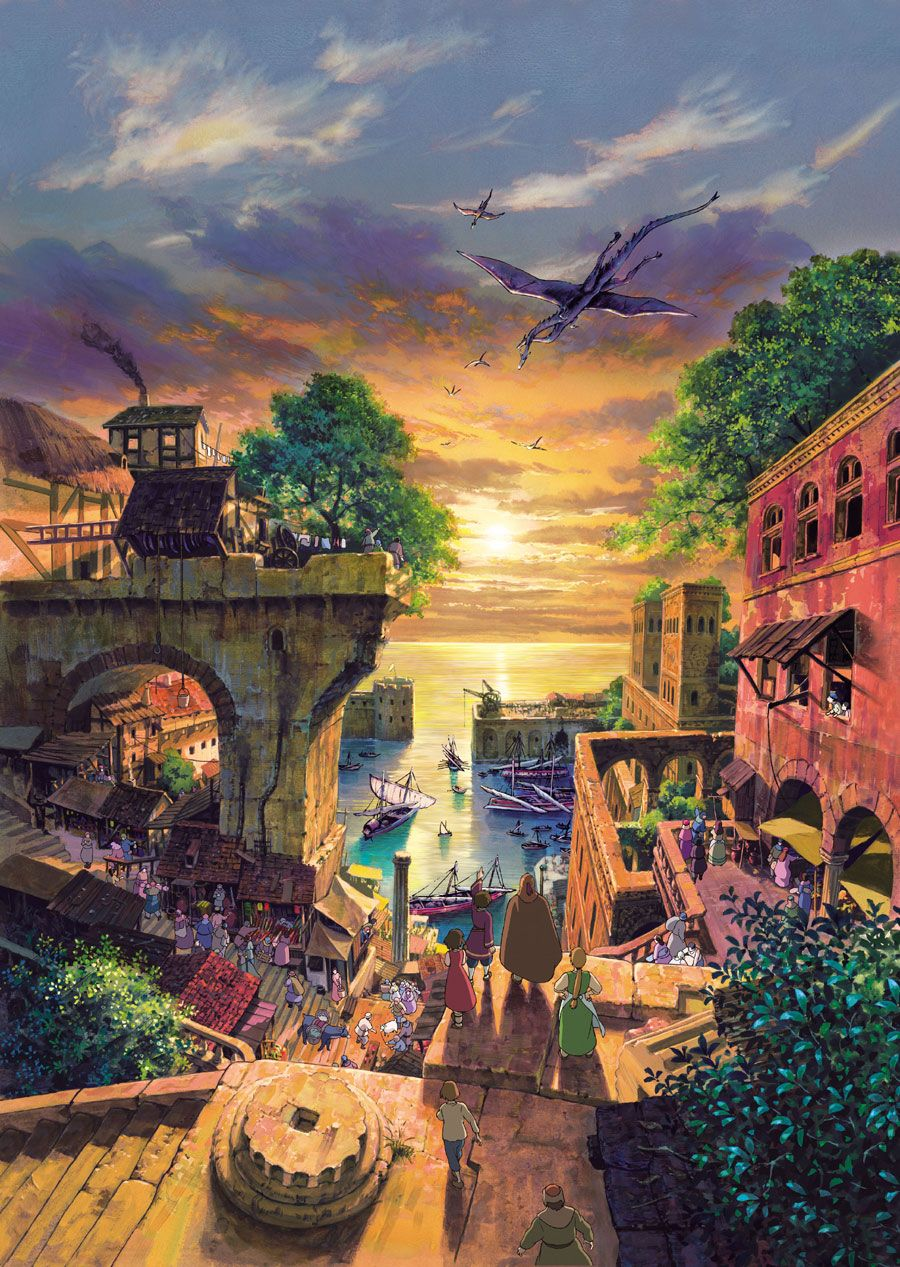 Tales From Earthsea. You know, the Studio Ghibli movie that everyone pretends doesn't exist. There was still some good work in it, though.