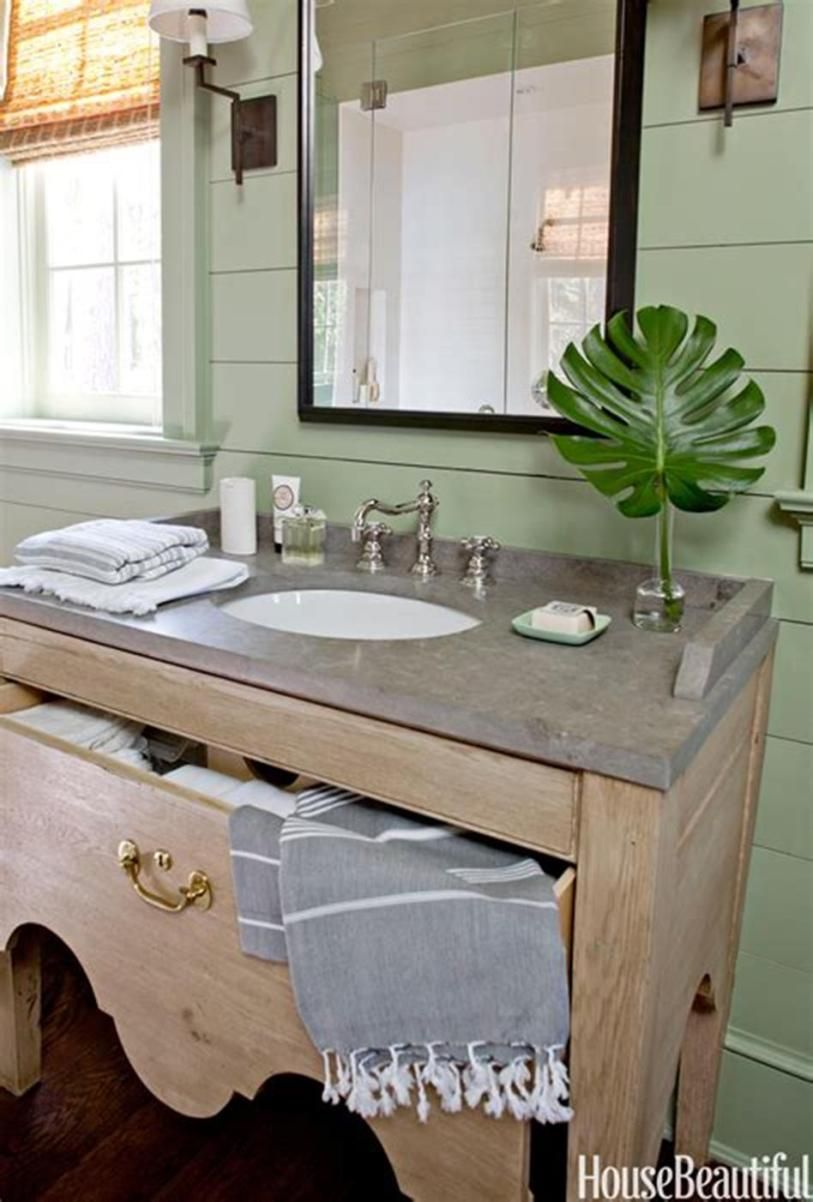 49 stunning half bath design and decor ideas lake house on stunning small bathroom design ideas id=68537