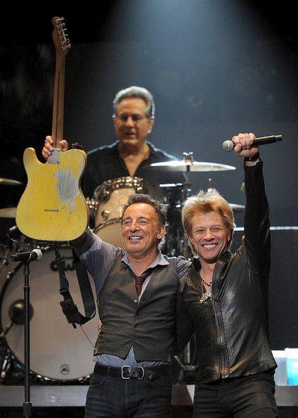 Bruce Springsteen y Jon Bon Jovi