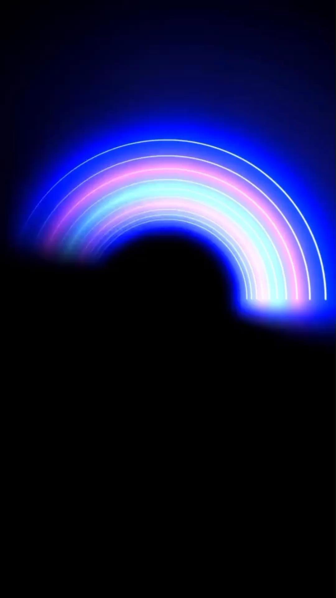 Hình nền động trừu tượng đầy sắc màu