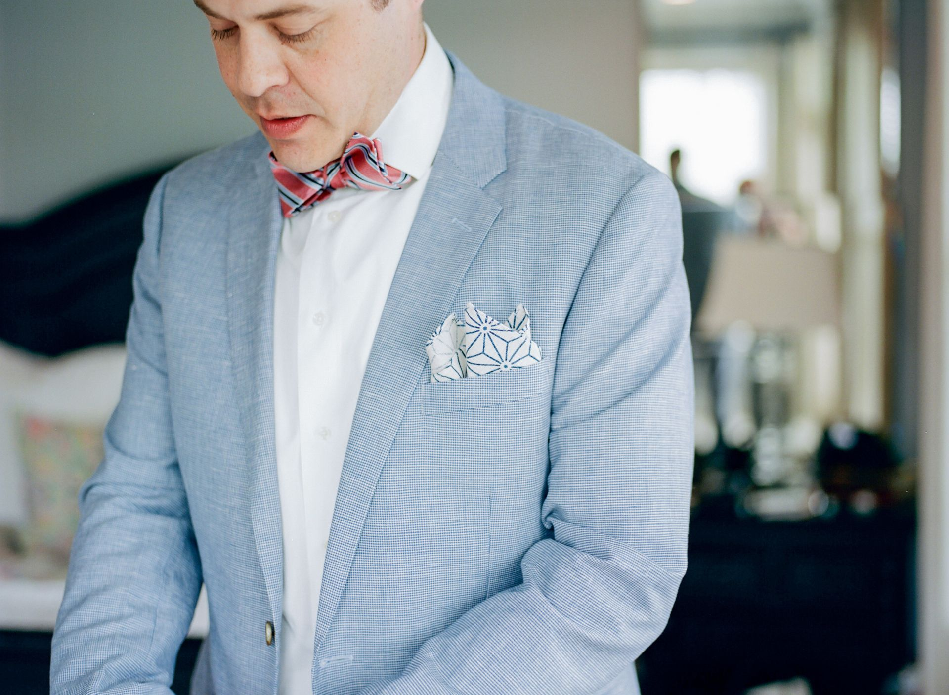 The Smarter Way to Wed | Blue linen suit, Grooms and Weddings