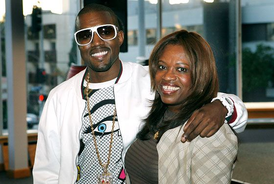 8 Black Celebrities Who Were Raised By Single Mothers And Made It Big Kanye West Mom Kanye West Rap Songs