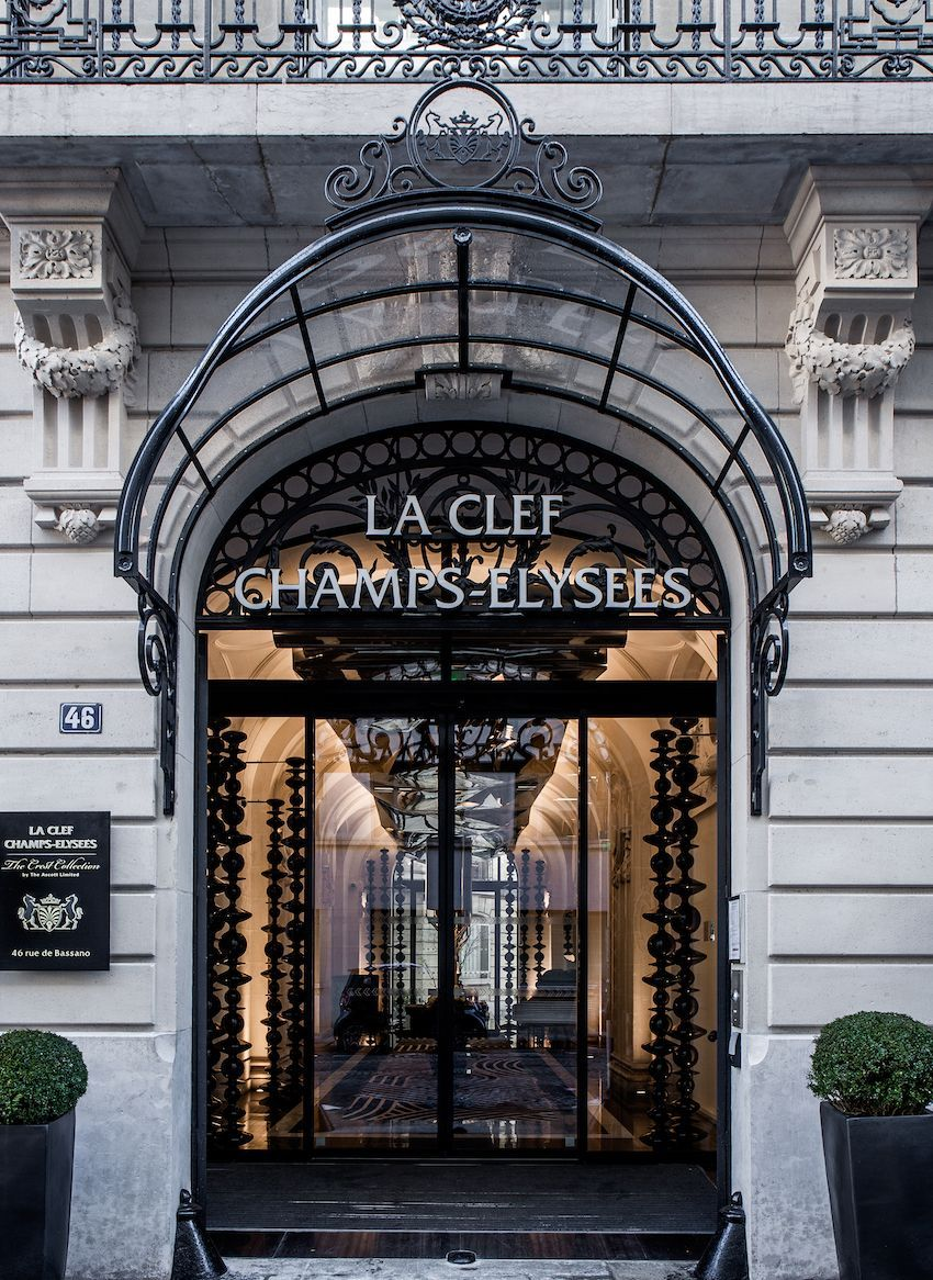 Luxurious Paris Hotel Pays Homage To History In A
