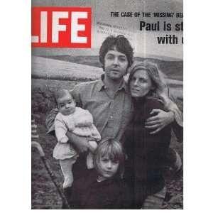 life magazine paul mccartney   LIFE Magazine issue November 7, 1969 (Paul McCartney cover
