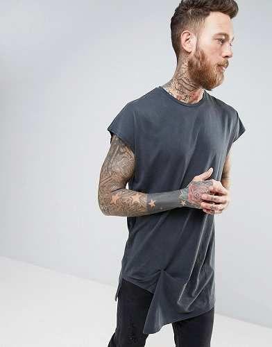 Prezzi e Sconti: #Asos t-shirt oversize lavaggio acido con taglia Xxxlxxsm  ad Euro 23.99 in #Asos #Male per prodotto shirt