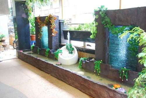 Emejing Indoor Waterfall Fountain Pictures - Decoration Design ...