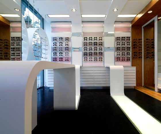Optic Shop Laskaris By Darchstudio Shops Kifissia Eyewear Store Design Design