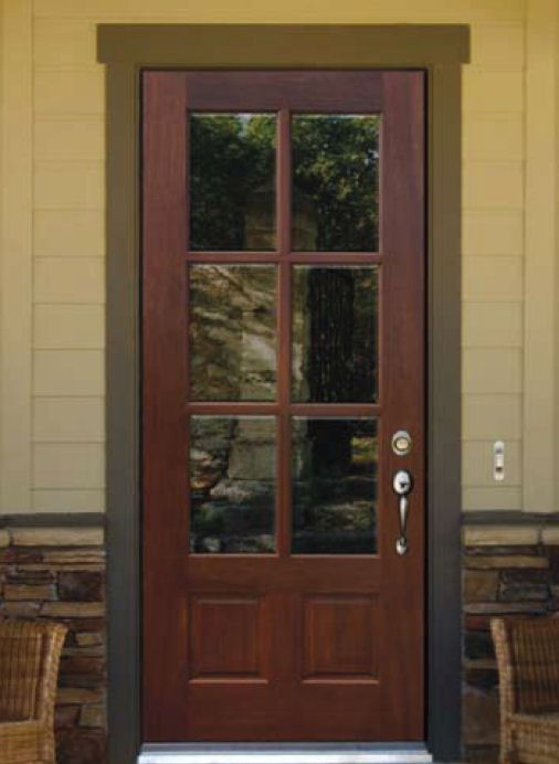 Lite Unfinished Slab Entry Door Exterior Doors Custom
