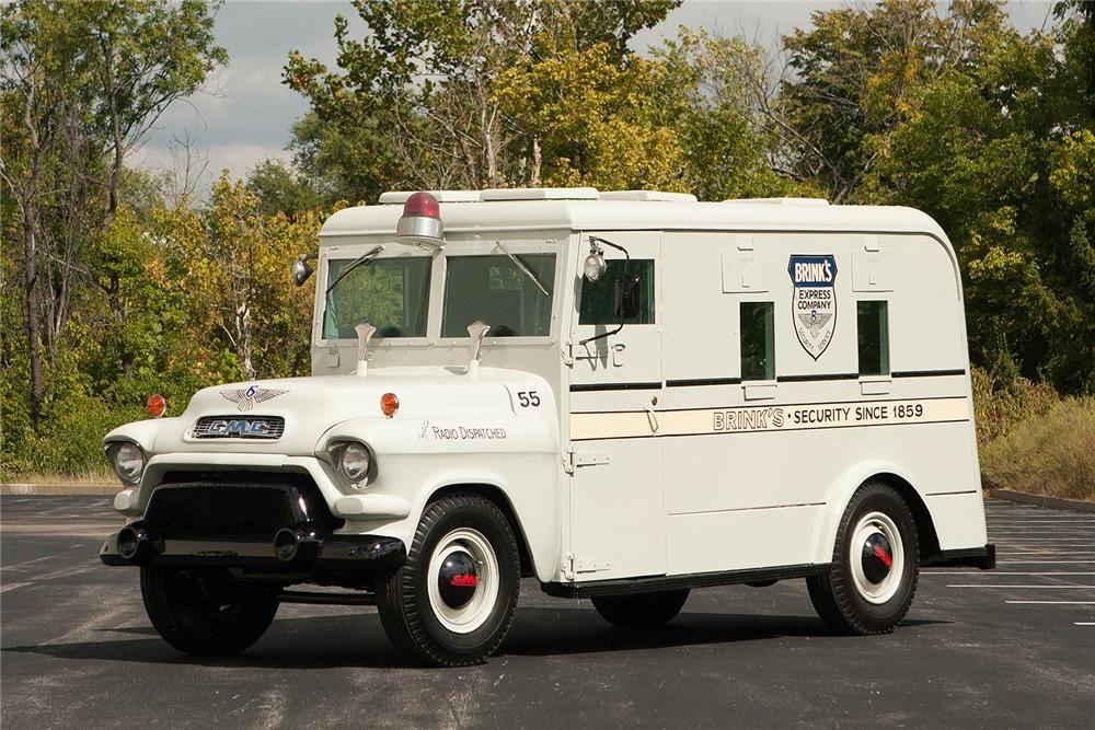 1955 Gmc Pickup 1955 Gmc Armored Truck Lot 516 Barrett Jackson