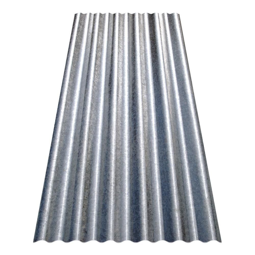 Gibraltar Building Products 6 Ft Corrugated Galvanized Steel 29 Gauge Roof Panel Cr6g U Th Steel Roof Panels Corrugated Metal Roof Polycarbonate Roof Panels