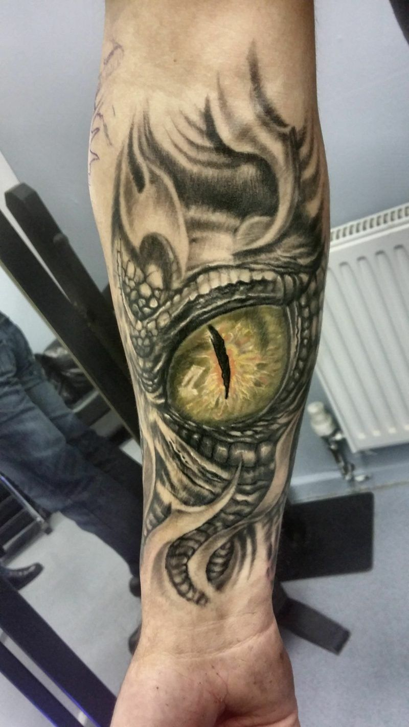 Eye Tattoo Design Meaning And 34 Great Examples With Images Eye Tattoo Triangle Tattoos Dragon Tattoos For Men