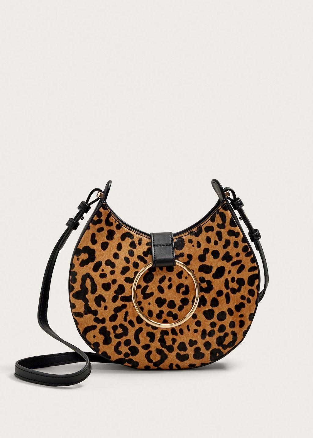 Animal Print Leather Bag Plus Sizes