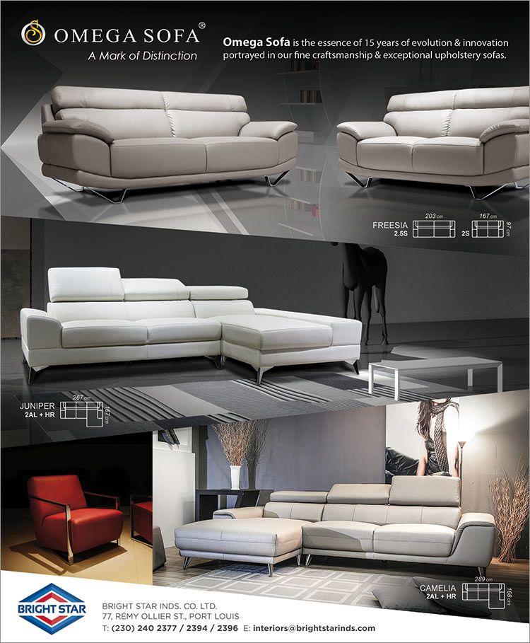 Bright Star Industrial Co. Ltd - OMEGA Modern Designer Sofas. Tel ...