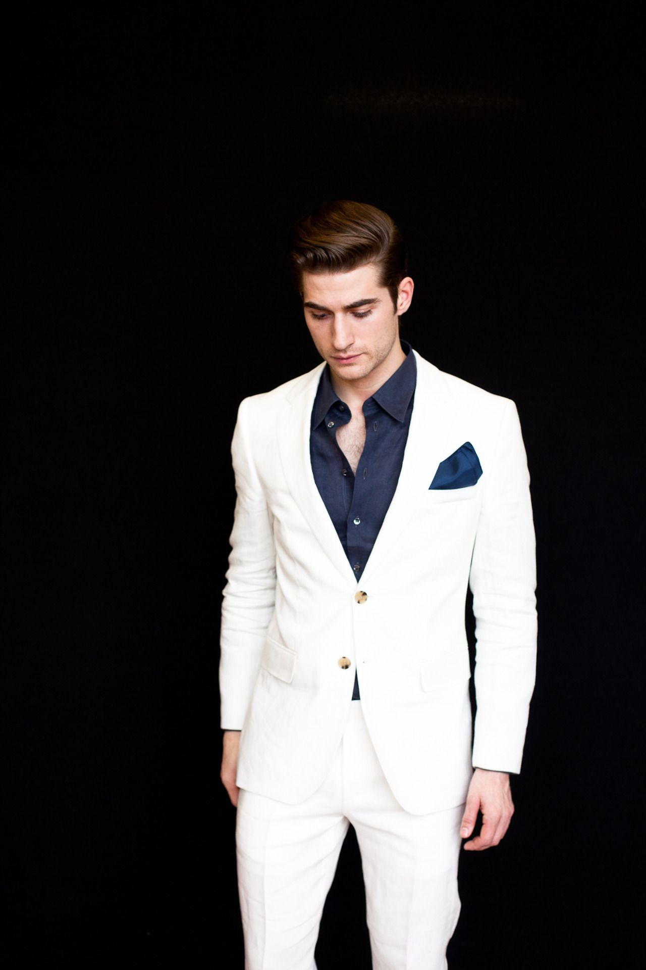 Dress to express not to impress mens white suit