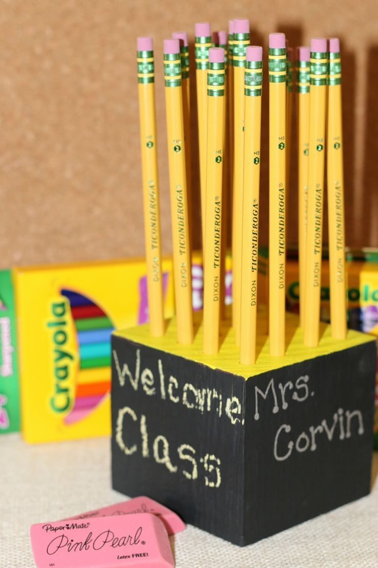 Homemade Pencil Holders Diy Homemade Pencil Holder Teacher Gift Idea Back To School