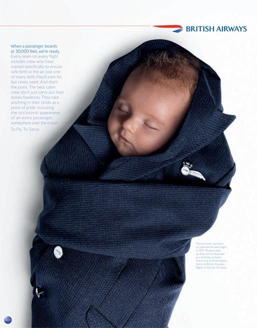 Did you know every #BritishAirways flight has crew trained to ensure a safe birth? #airlines