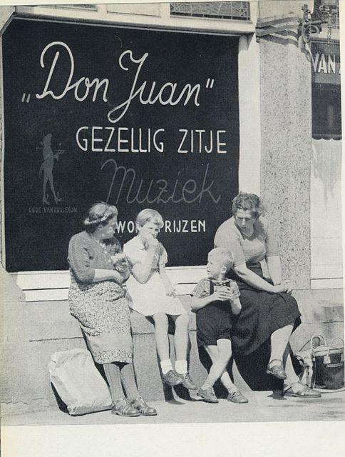 Amsterdam, jordaancafe   1957