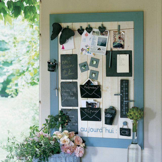 un panneau pense b te fait d ardoises pense bete. Black Bedroom Furniture Sets. Home Design Ideas