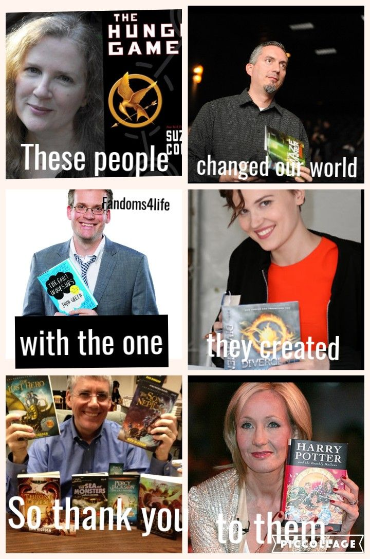 All my fandoms. I love all these amazing people!!