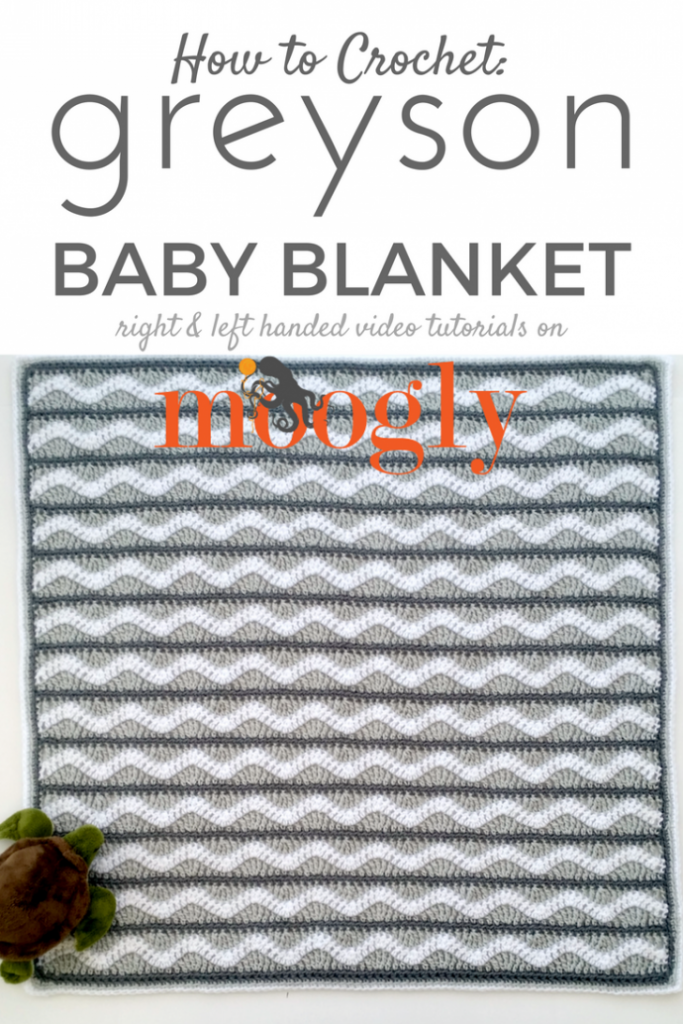 Greyson Baby Blanket - video tutorial for this FREE crochet pattern ...