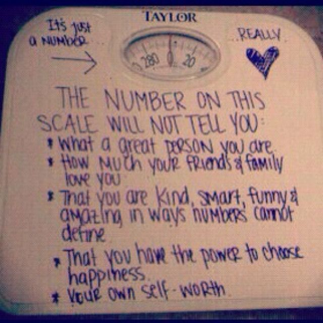 This Number Does NOT Define You! I Just Saw A Post About
