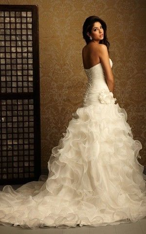 Abiti Da Sposa Okmi.Pin Su Mermaid Ruffle Wedding Dresses