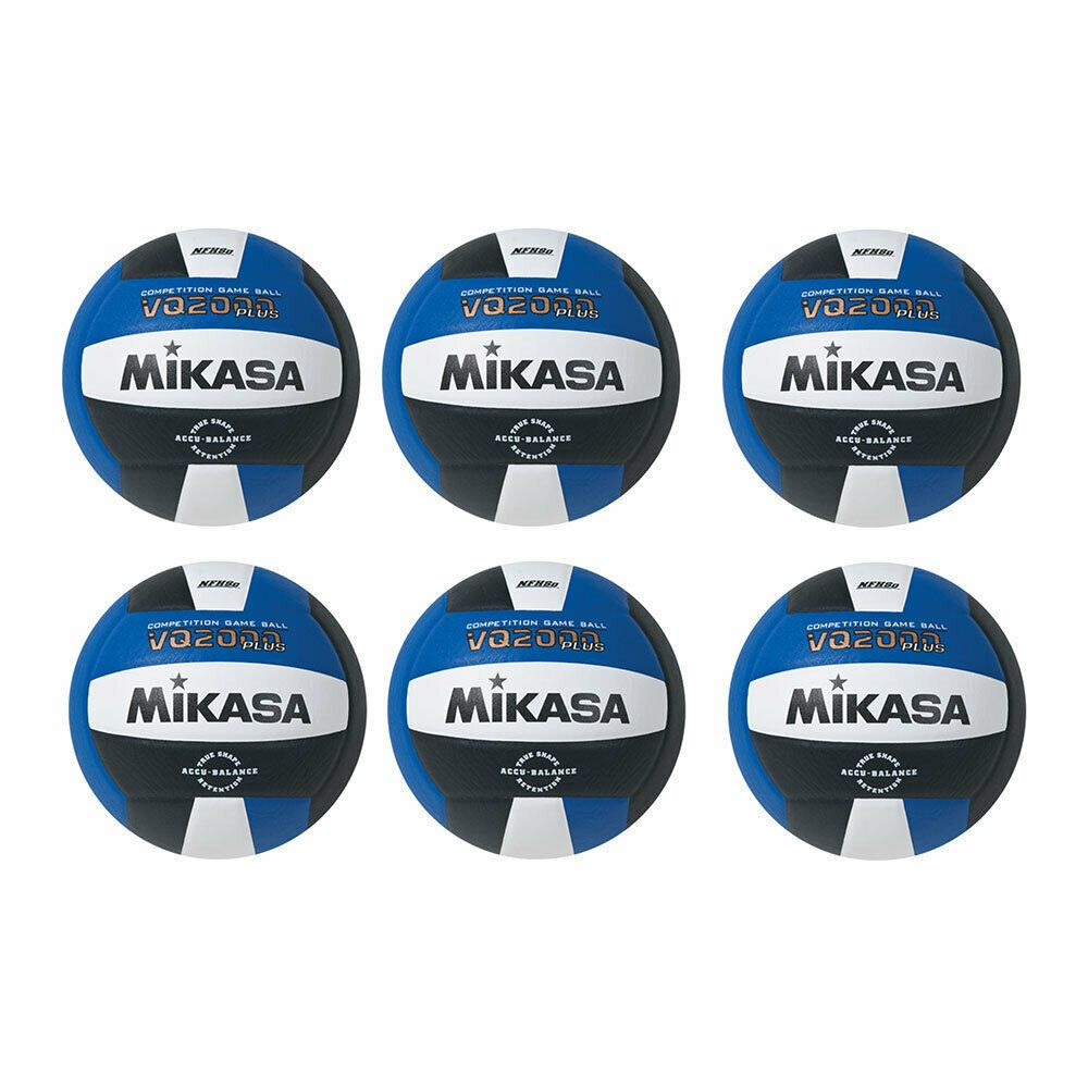 Ebay Sponsored Mikasa Usa Vq2000 Game Ball Size 5 Composite Volleyball Dark Blue 6 Pack Basketball Knee Pads Volleyball Volleyball Set