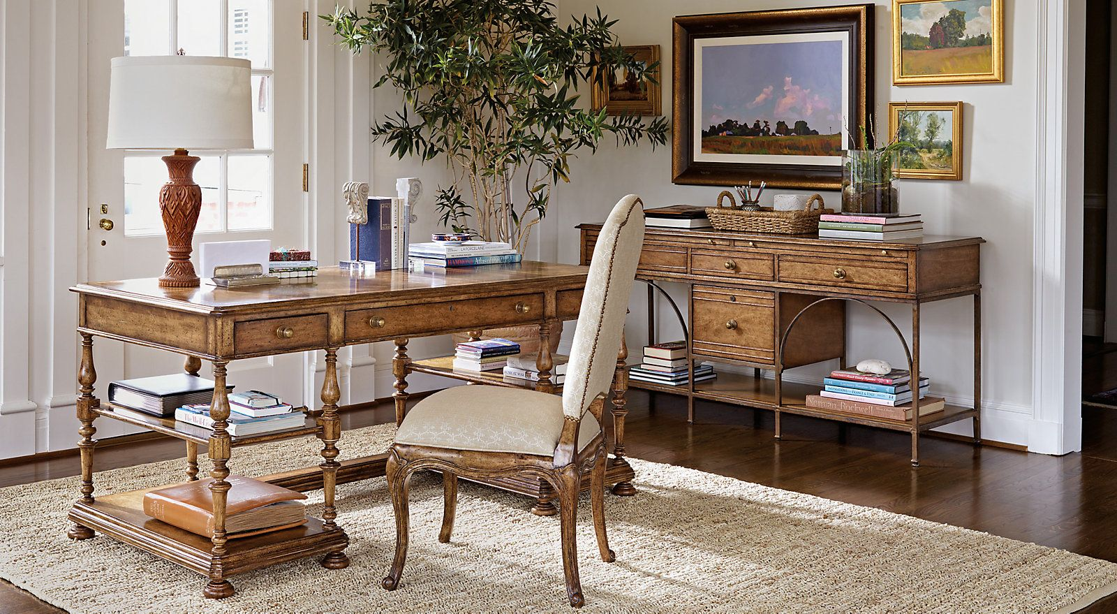 Sophisticated provincial office gallery home office pinterest