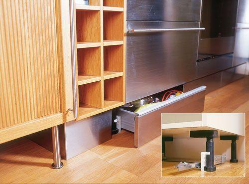 Ricavare spazi utili in cucina arredo e salvaspazio for Arredo cucina fai da te