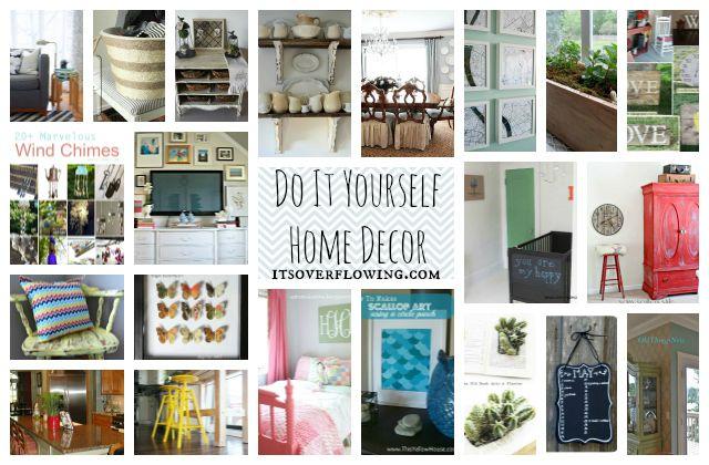 Do It Yourself Home Decor -- Fun Fun Fun!