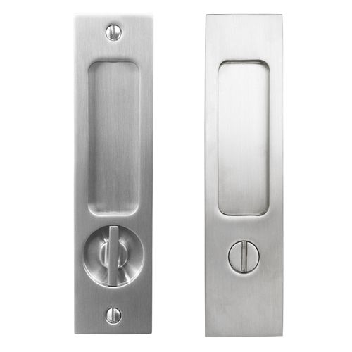 Genial Linnea PL 160S Square Privacy Pocket Door Lock: ADA Version Looks Like Good  Hardware For Pocket Door
