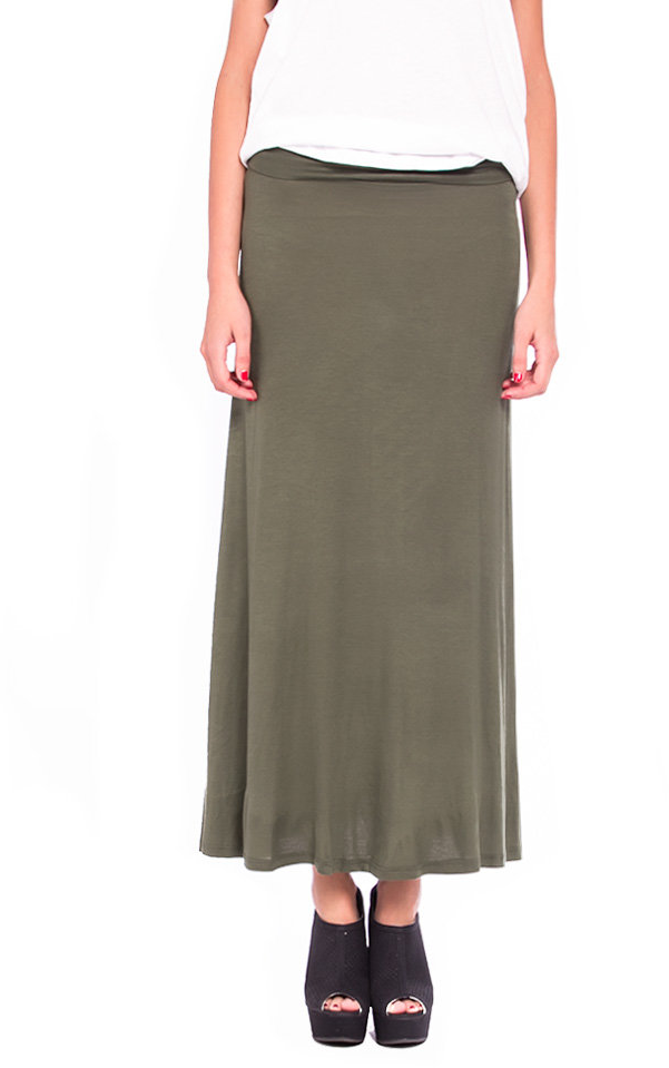 #2020AVE                  #Skirt                    #Solid #Fold #Over #Maxi #Skirt #2020AVE            Solid Fold Over Maxi Skirt - 2020AVE                                          http://www.seapai.com/product.aspx?PID=822430