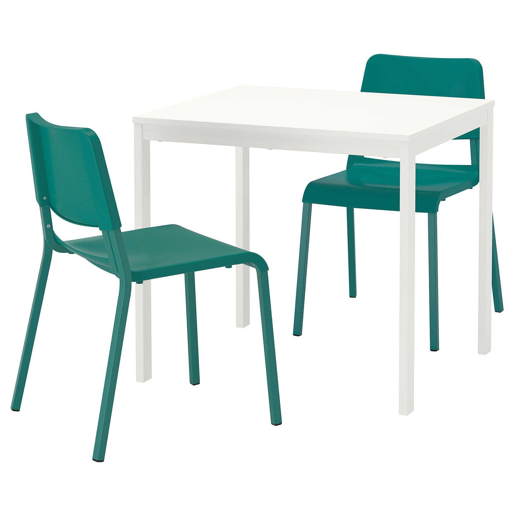 Vangsta Teodores Tisch Und 2 Stuhle Weiss Grun Ikea
