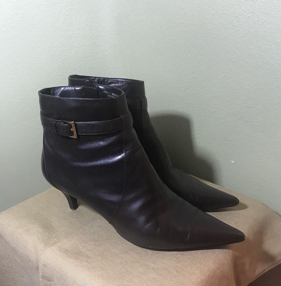 7b0c9ff7571 Bandalino Brown Dress Bootie #fashion #clothing #shoes #accessories ...